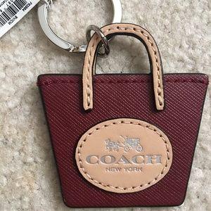 COACH Key Chain NWT